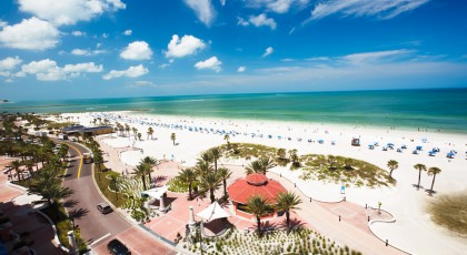 clearwater beach tampa 420x230 Tampa Beach Water Parks