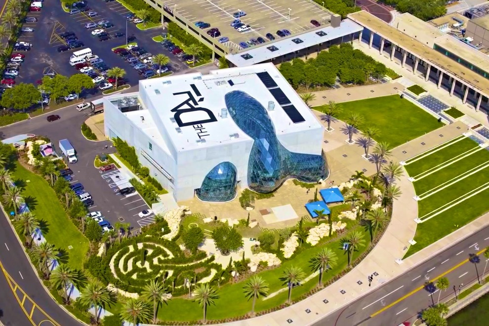 the dali museum tampa Tampa Sightseeing Attraction